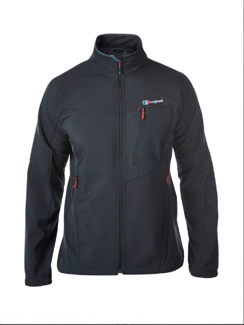 Berghaus Mens Ghlas Softshell Jacket- Water and Wind Resistant